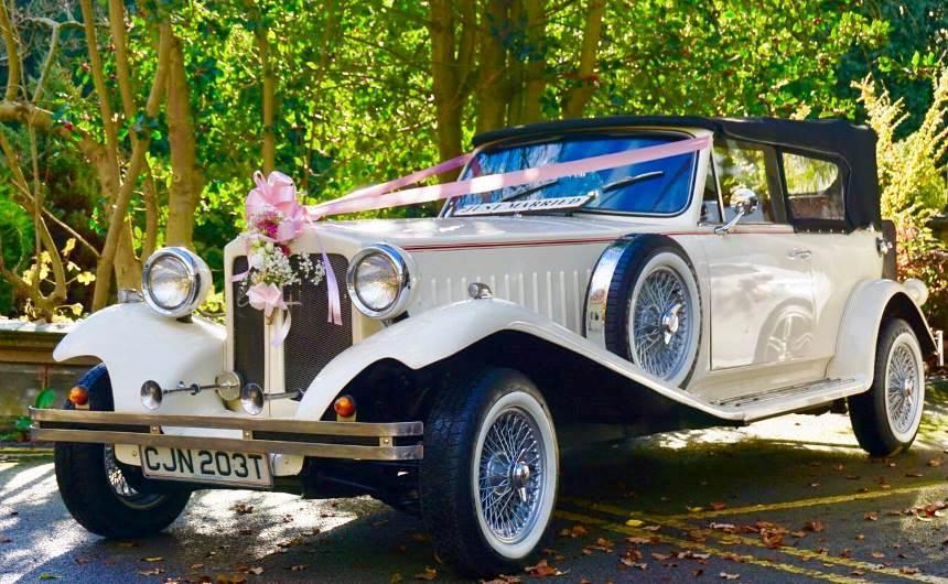 White Beauford Beauford Wedding Car Hire In Barnsley